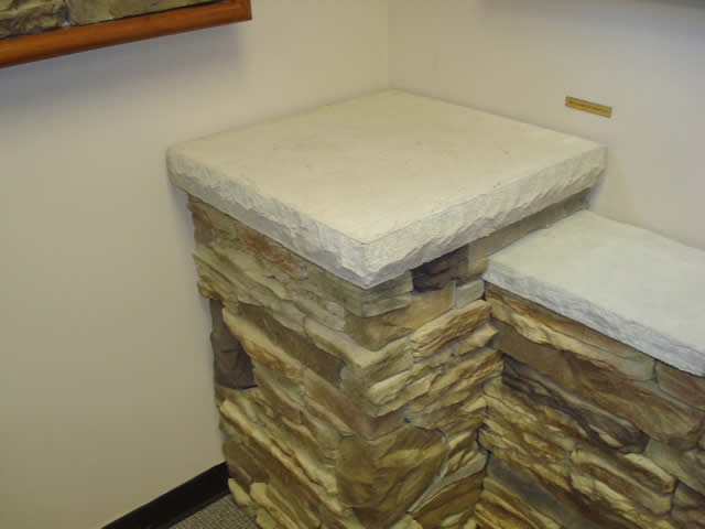 flat column cap centurion stone st.louis