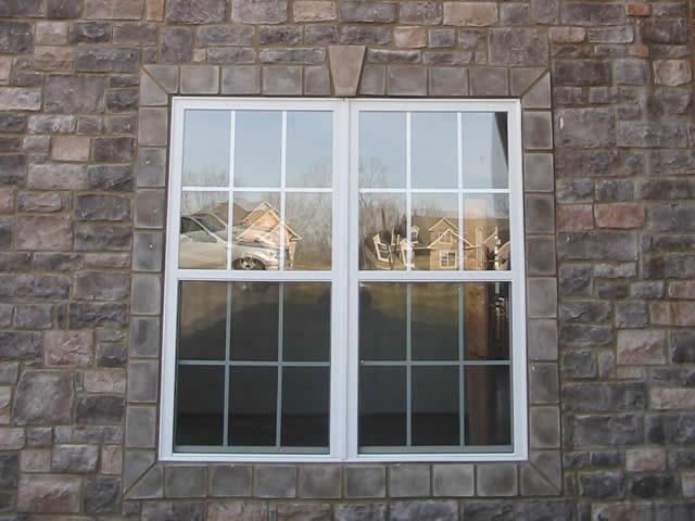 window stone trim centurion stone st. louis